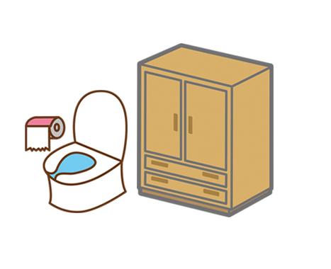 トイレや下駄箱などの臭い